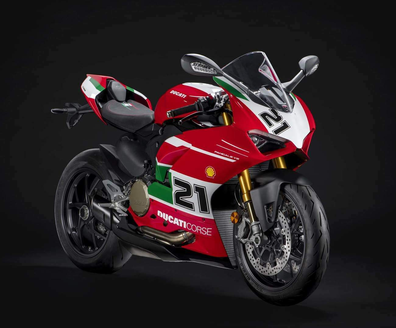 Ducati Panigale V2 Bayliss 1st Champion 20th Anniversary technical specifications